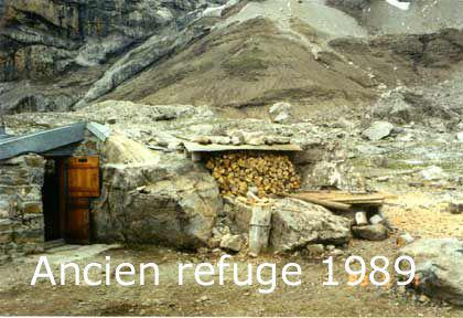 Ancien refuge en 1989
